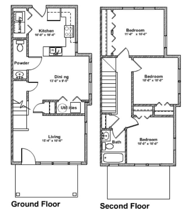 3 Bedroom Apartments Indianapolis 3 Bedroom 1 5 Bath Red